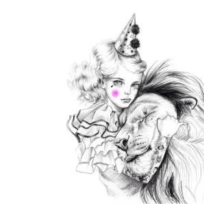 circus-girl-and-lion