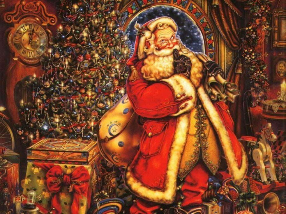 briliant-decoration-santa-clause-vintage